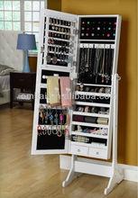 tibetan furniture cheval jewelry armoire NC-PANINT wood doors make up mirror