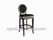 2013 New Style Long Legged Black Louis Chair