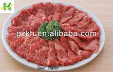 Beef Flavor for frozen halal beef meat