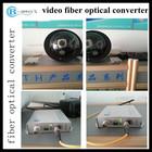 1 ch Video fiber optic transmitter and receiver wireless digital video