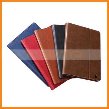 Luxury Leather Flip PU Case for iPad Mini 2 Case with Card Slot