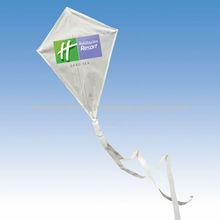 high quality white advertising logo kite