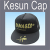 Cheap mesh/cotton printed leisure snapback hat/cap