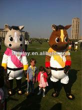 HI CE High Quality horse mascot costume