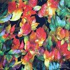 Flower Patterns 100% Cotton Digital Printing Fabrics
