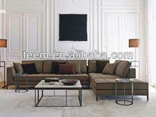 DIVANY Modern style fabric sofa set D-68 Top Sale 2013 corner sofa l shape