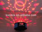 Mini dancing light speaker in sound control