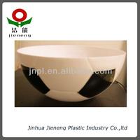 football shape bowls