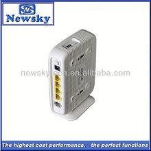 4 LAN RJ11 2T2R ADSL broadband home gateway router