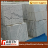 Chinese factory price polished white and grey vein marble