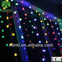 multicolor led curtain light up christmas wall decor
