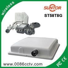 30KM long distance outdoor wireless 400MW 5.8Ghz audio video bridging