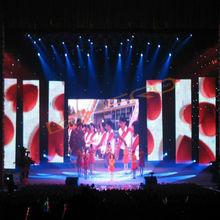P20 led ad curtain screen-led p20mm display curtain-led ad. curtain screen