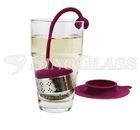 SINOGLASS tea maker infuser with stand
