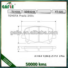 GDB3248 0446528410 TOYOTA PREVIA MPV(ACR3_) Disc Brake Pads