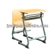 2013 Modern Wooden School Student Chair With Writing Tablet School Furniture
