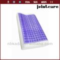 gel de silicone da espuma da memória massagem pescoço travesseiro