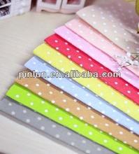 polka dot polyester printed for bag lining fabric