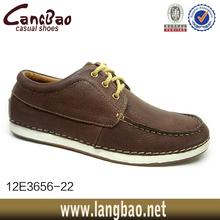 Men's 10D Tan LEATHER/SUEDE CASUAL/DRESS OXFORD Lace-Up Shoe