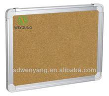 hot sale wall mounted aluminum frame pin /cork board