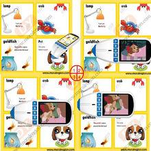 Smart digital talking pen+talking book for kids education