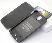 3200mah External Back Battery Case For S4 I9500 Portable Mobile Charger Backup Battery Case For Samsung Galaxy SIV