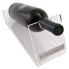 2013 high quality acrylic single wine bottle holder