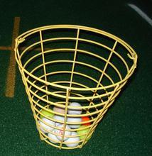 portable metal golf ball basket for balls wholesale basket