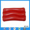 Hot sale promotional beach pillow PVC inflatable plastic pillow
