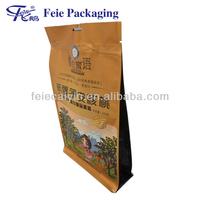 Quad seal Plastic packaging bag