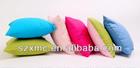 Anti-fire pilloe case latest pure cotton cushion colorful led pillow
