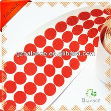 3m adhesive velcro dot,100% nylon round dot adhesive velcro
