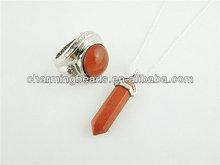 CH-ESP0120 Goldsand stone for set,fashion ston beaded set