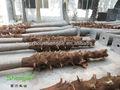 Venta al por mayor Artificial lanscaping ventilador palmeras troncos para la decoración