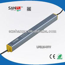 SANPU hot selling Shenzhen waterproof 12v 2a dc power supply,cctv power supply,light driver manufacturer, supplier, exporter