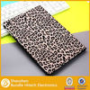 Snow Leopard Style for iPad air Leather Case