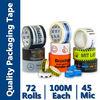 Opp Tape With Logo MOQ 2000 Rolls