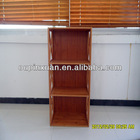 New design movable bamboo bookcase /mobile bookcase
