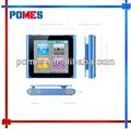 Venta al por mayor 1pc/lot pantalla táctil 16gb 6th clip mp4 1.5 pulgadas con radio fm de música de vídeo mp4 mp3 player