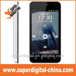 Cheap smart phone 4.0inch 480X800 WVGA IPS MTK MT6572 smart phone