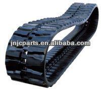 yanmar rubber tracks, rubber track pad for yanmar vio30,vio55,vio50