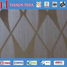 Steel acid etching stainless steel