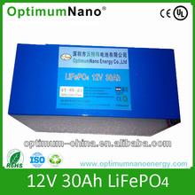 High quality caravan leisure Li battery 12V 30AH