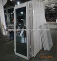 foshan wanjia fábrica de puertas correderas de cristal al por mayor