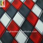 Wholesale microfiber plaid uniform fabric for clothing