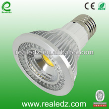 E27 PAR20 CE ROHS 5W COB led spotlight replace 50w Philips and OSRAM halogen