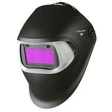 3M Speedglas 100 and Auto-Darkening Filter 100V Shades 8-12 Black Welding Helmet