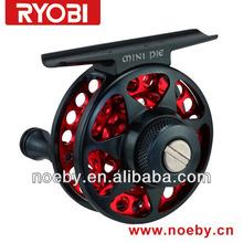 CNC fishing used alloy material Mini cool & Mini pie fly reels cnc