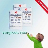 General Chemical dealer Shanghai Yuejiang Titanium dioxide Rutile R218