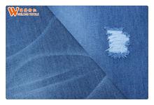 light 90%cotton 10%polyster denim for men pants TC jeans fabric manufacuteres B2682-A